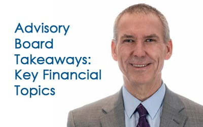 Advisory Board National Meeting: Key Financial Takeaways