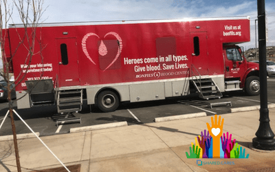 SHARED.CARES. Blood Drive