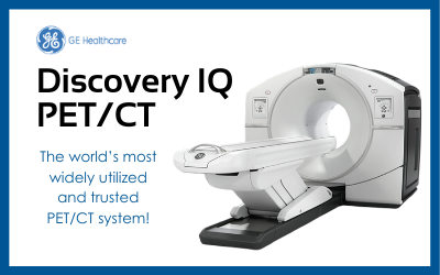 Product Showcase:  GE Discovery IQ PET/CT System